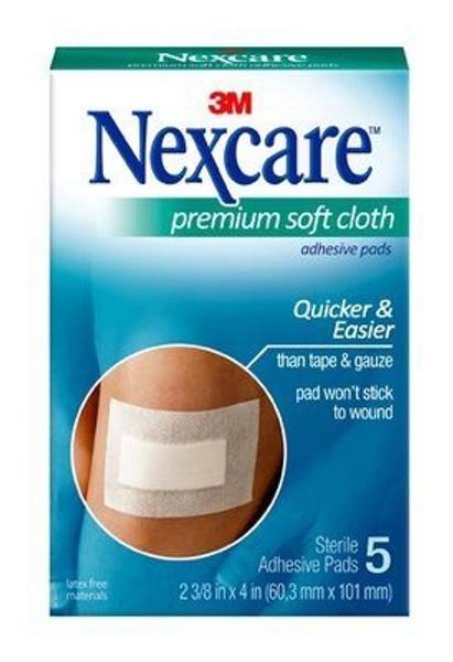 Adhesive Dressing Nexcare White