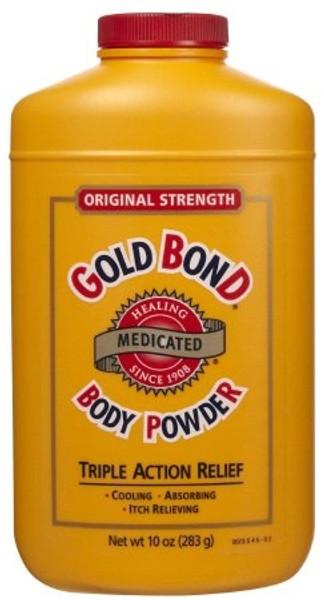 Body Powder Gold Bond Menthol Scent