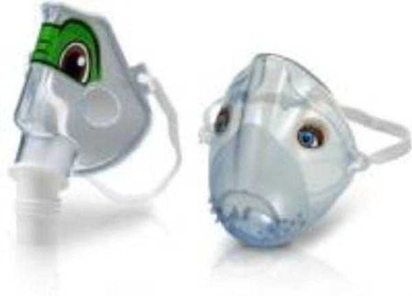 Aerosol Face Mask SideStream Plus Short Pediatric One Size Fits Most Adjustable Elastic Head Strap