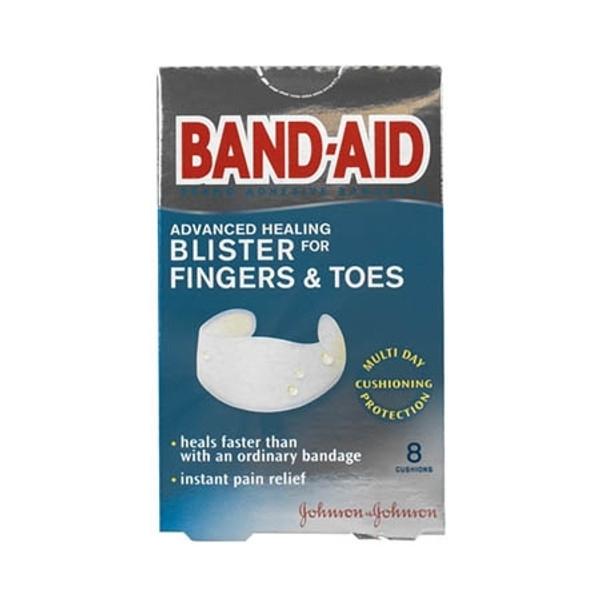 Adhesive Strip Band-AidAdvanced Healing Blister Plastic Finger / Toe White Sterile