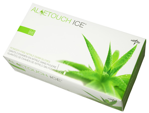 Aloetouch Ice PF Nitrile Exam Gloves