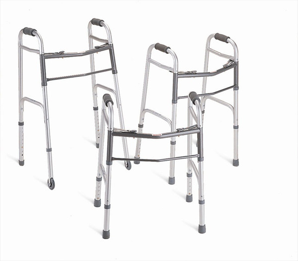 "deluxe adult walker with 5"" wheels"