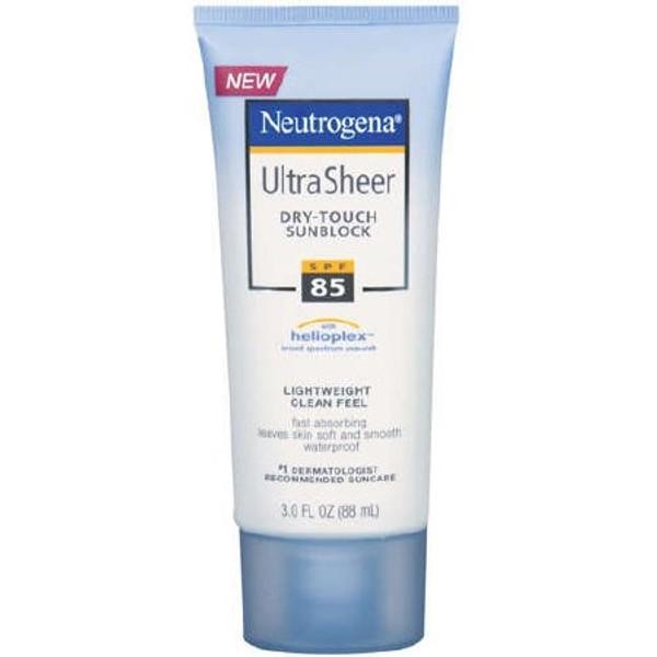 Sunscreen Neutrogena Ultra Sheer Dry-Touch SPF 100 Tube Lotion