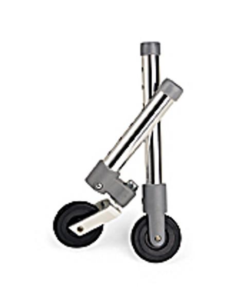 """3"""" Walker Swivel Wheels with Glide Caps"""