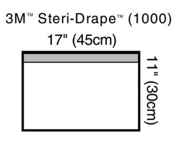 3m steri-drape towel drape
