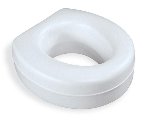 Contoured Plastic Raised Toilet Seat