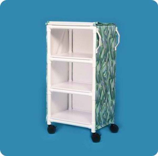 MRI Compatible 3 Shelf Cart with26 X 20 Shelves
