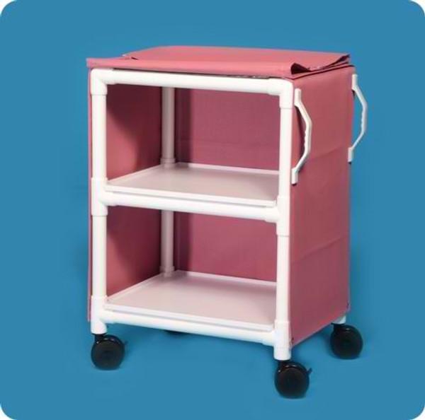 "2 Shelf Cart With Cover - 26"" X 20"" Shelves"