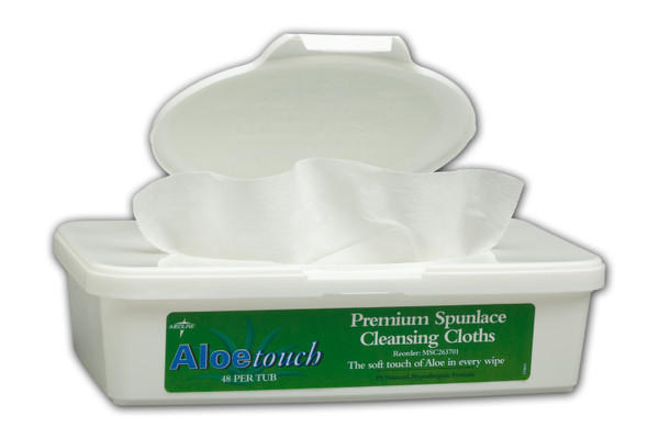Aloetouch Wipes - Tub Scented