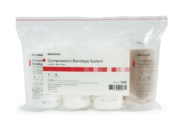 Compression Bandage System McKesson Padding