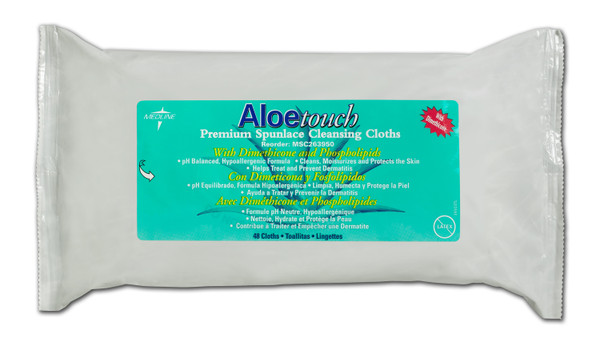 Aloetouch Wipes - Fragrance Free (Dimethicone)