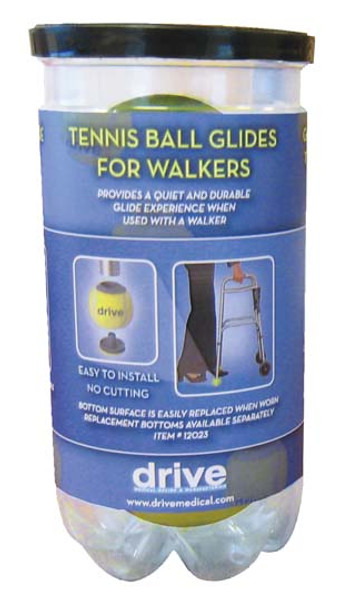 Deluxe Tennis Ball Glides for Walkers
