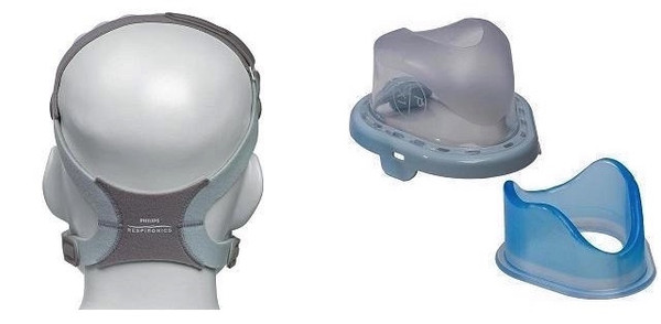 TrueBlue Gel Replacement Parts - Headgear or Cushions