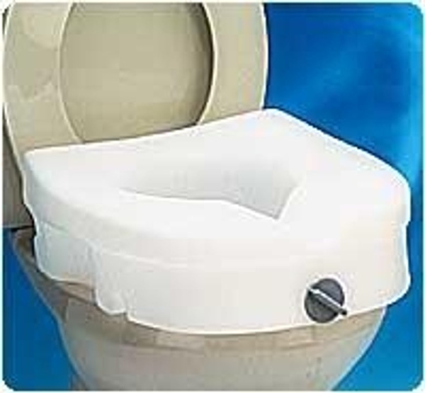 E-Z Lock Raised Toilet Seats