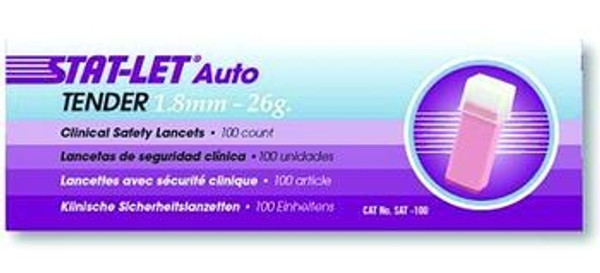stat-let auto clinical safety lancets