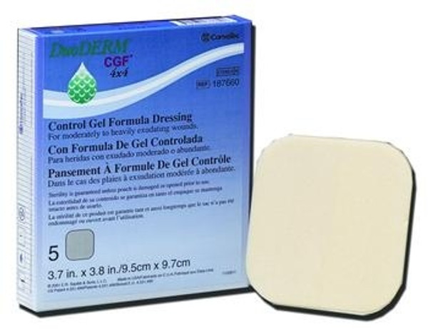 DuoDERM CGF Sterile Dressing - Square