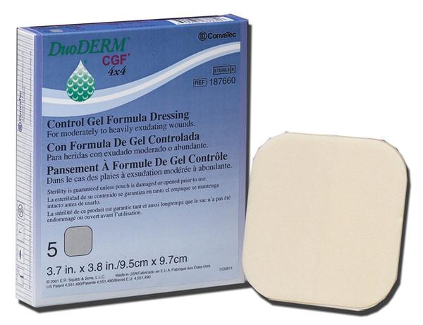 DuoDerm CGF Control Gel Formula Dressing by Convatec