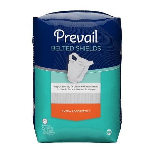 Adult Sample Incontinent Belted Undergarment Prevail Belted Shields One Size Fits Most Disposable Light Absorbency