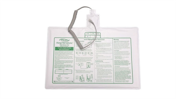"""""""Timed"""" Chair Sensor Pad 10""""x15"""" - 45 day pad life (""""Time-In-Use"""" feature only operational with a TL-2100CP)"""