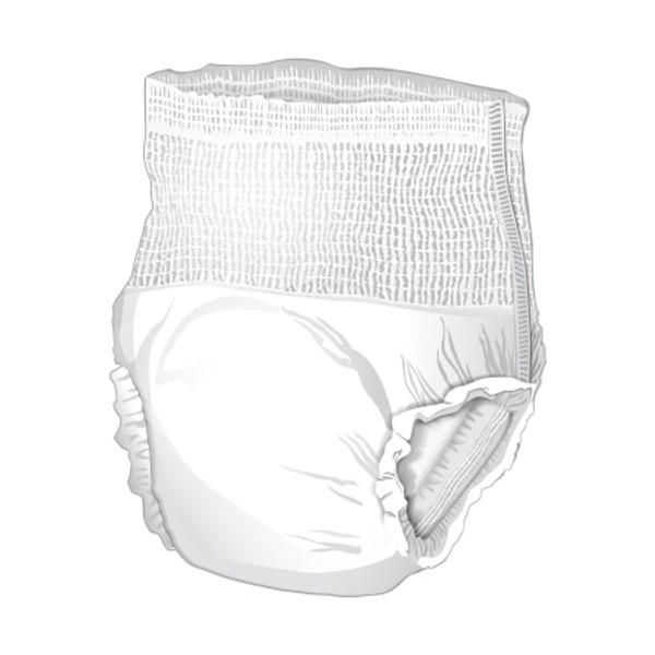 Adult Absorbent Underwear McKesson Bariatric Super Plus Pull On 2X-Large Disposable Moderate Absorbency