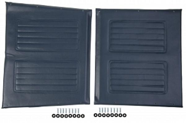 "20"" Wheelchair Upholstery Set, Blue"