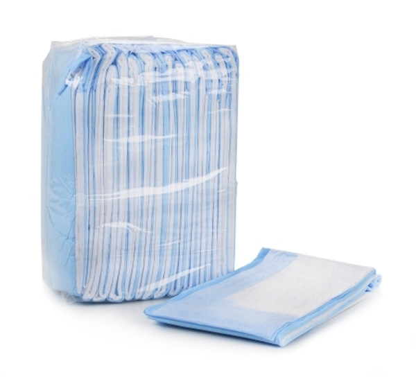 Underpad McKesson Ultra Lite 23 X 26 Inch Disposable Fluff Light Absorbency