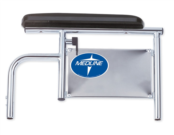 """18"""" Excel Wheelchair Armrest Full Length with Pad"""