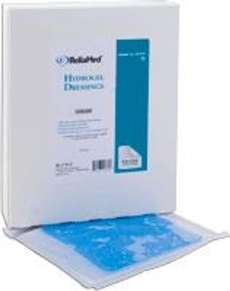 """ReliaMed Hydrogel Sheet Dressing - 4"""" x 4"""""""