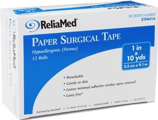 ReliaMed Paper Surgical Tape