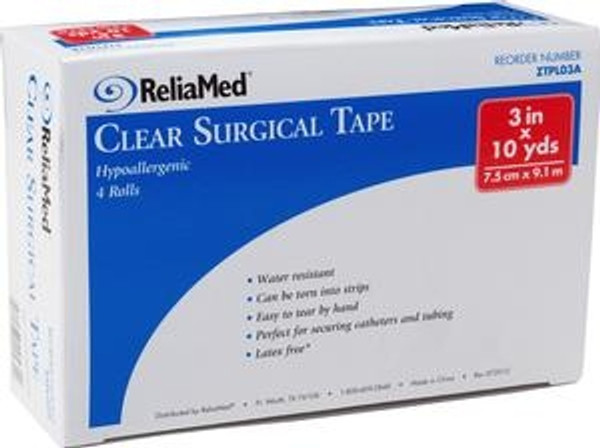 ReliaMed Clear Surgical Tape