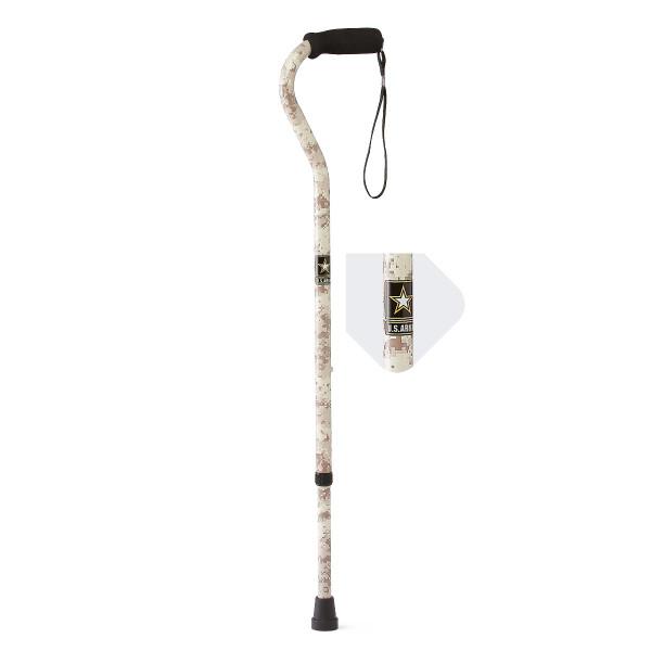 U.S. Army Offset Walking Cane