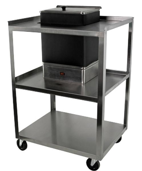 Utility Cart For E-1 Moist Heat Pack Heater