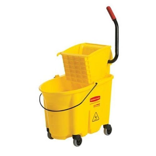 Mop Bucket and Ringer, WaveBreak - 26 Quart