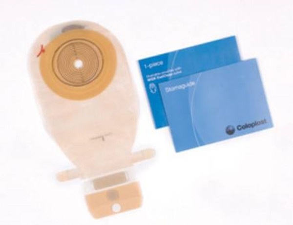 Colostomy Pouch Kit Assura EasiClose WIDE Outlet One-Piece System