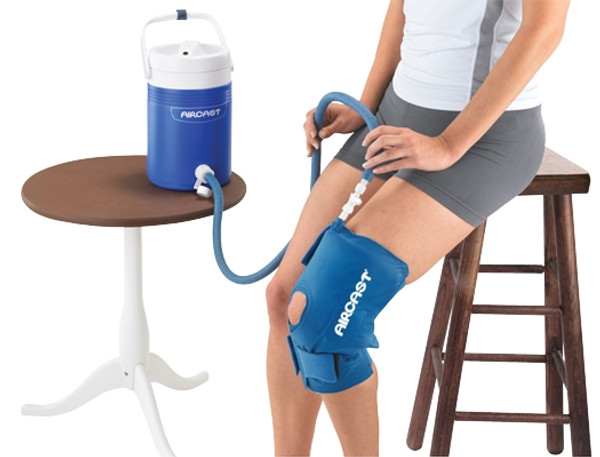 AirCast CryoCuff Knee Cuff With Gravity Feed Cooler