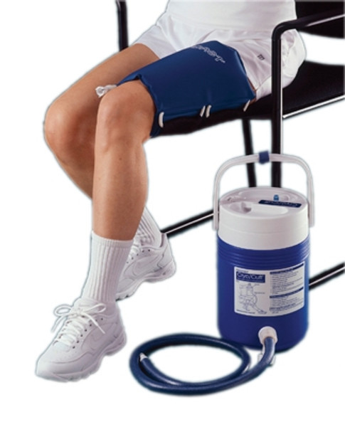 AirCast CryoCuff Thigh Cuff With Gravity Feed Cooler