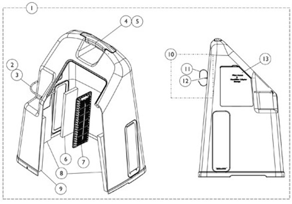 Cover Cabinet Assembly 9153638857