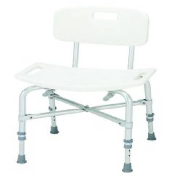 Aluminum Bariatric Bath Bench, 14 - 20 Inch