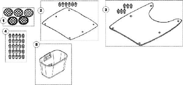 Front Basket for Lynx L3 & L4