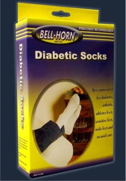 Diabetic Socks Small White