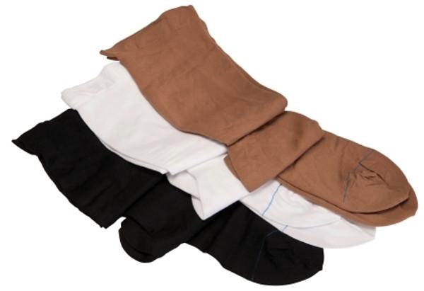 Anti-embolism Stockings Knee High Black Closed Toe