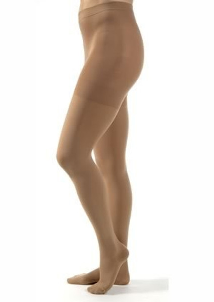 Compression Stockings JOBST Relief Waist High Beige Open Toe
