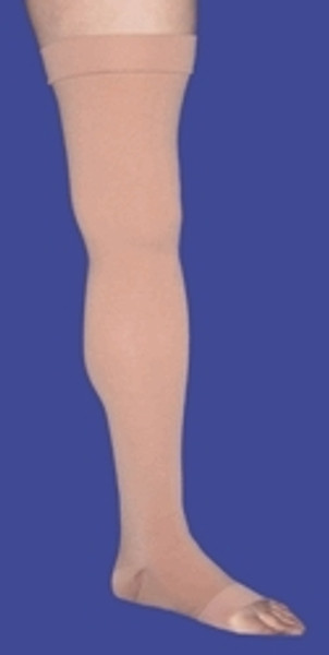 Compression Stockings JOBST Relief Thigh High Beige Closed Toe