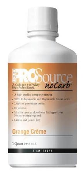 NoCarb ProSource Protein Supplement - 32 oz. Orange Creme