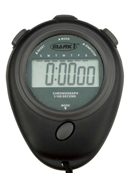 24 Hour Electronic Stopwatch/Watch Combination