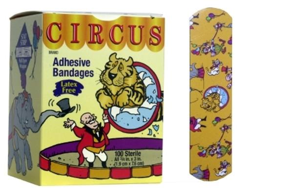 Adhesive Strip Stat Strip Fabric Rectangle Kid Design Sterile