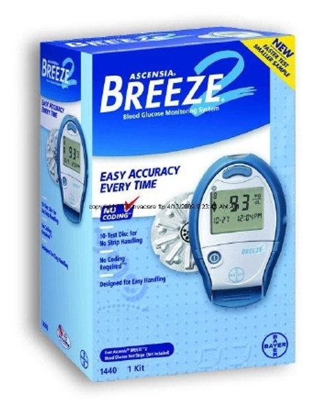 Blood Glucose Monitoring System Breeze