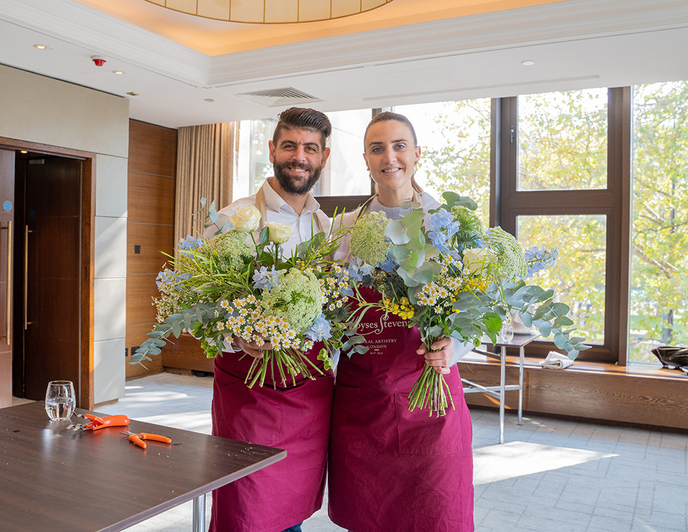InterContinental London:  Flowers and Afternoon Tea 18th November