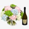 Hydrangea & Dom Perignon