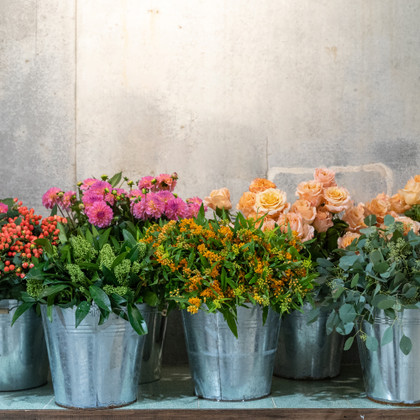open day at flower school